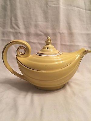 Hall Canary Yellow Aladdin Teapot