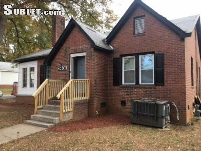 $425 Four room for rent in Charlotte