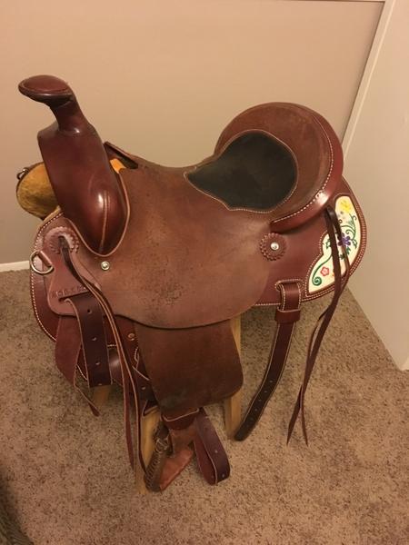 McCall McLite All Around Saddle