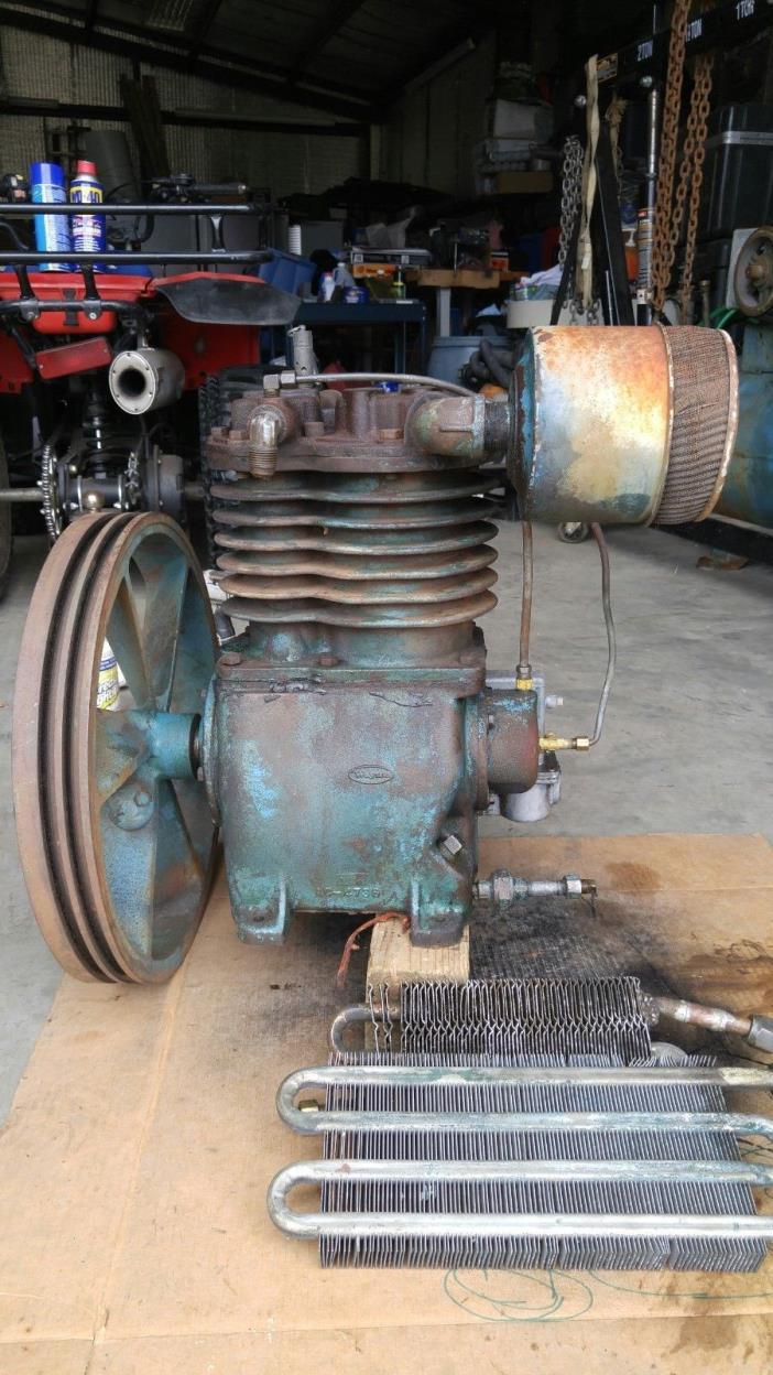 Used Wayne 5hp air compressor pump.