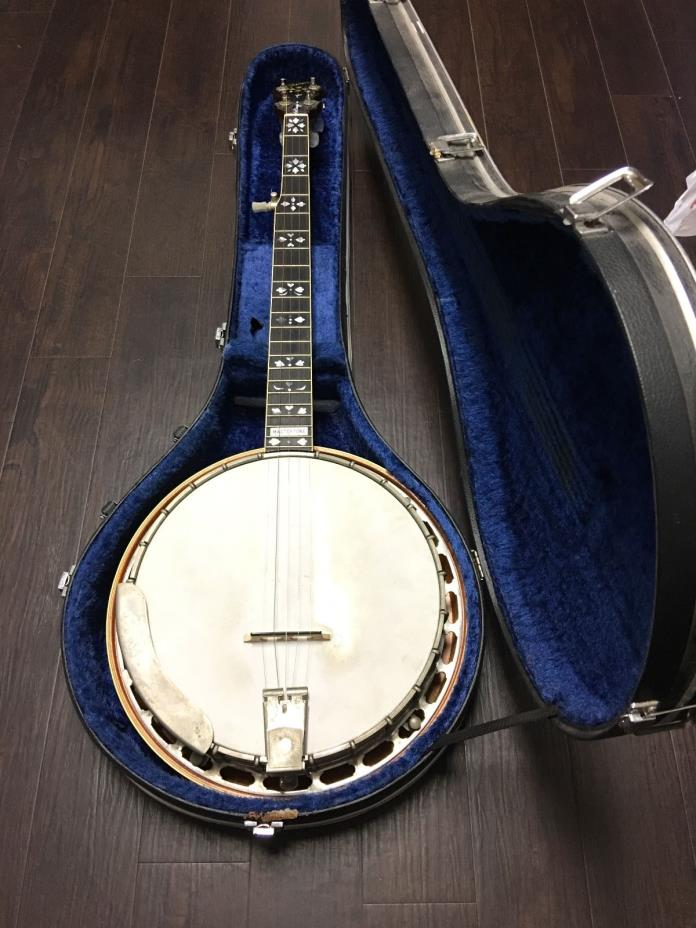 EXCELLENT CONDITION GIBSON EARL SCRUGGS MASTERTONE BANJO! MAKE OFFER! FAST SHIP!