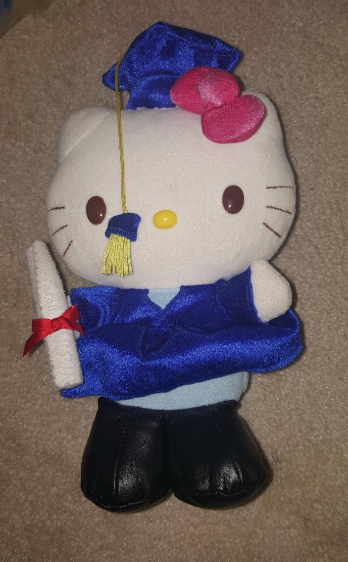 Hello Kitty Graduate Blue Robe with Tassle 10