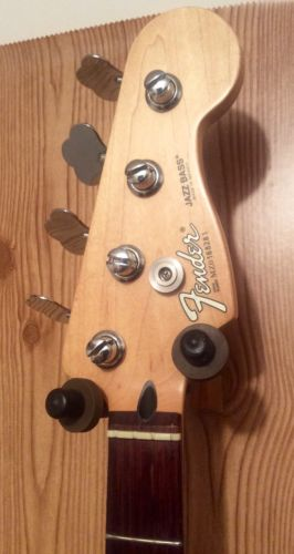 2000 or 2001 Fender Jazz Bass Neck! With Tuners! Great Project! Mexico! MIM!