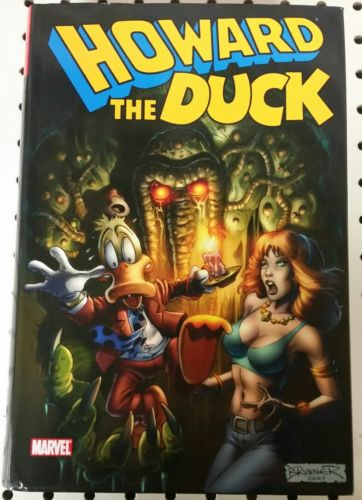 HOWARD THE DUCK OMNIBUS - Collects Howard The Duck 1 - 33, MAN-THING 1, and MORE