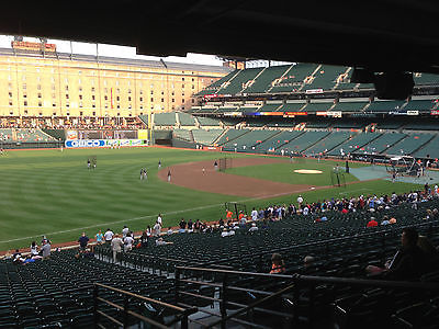 1- 5 Boston Red Sox @ Baltimore Orioles tickets 6/3 Lower Reserve