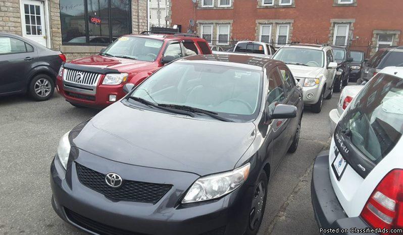 2010 Toyota Corolla Le 4cyl 30 day warranty no credit check all valid license...