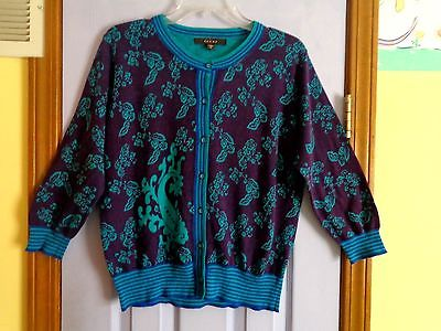 WOMEN'S FEVER CARDIGAN SWEATER - LARGE - never worn