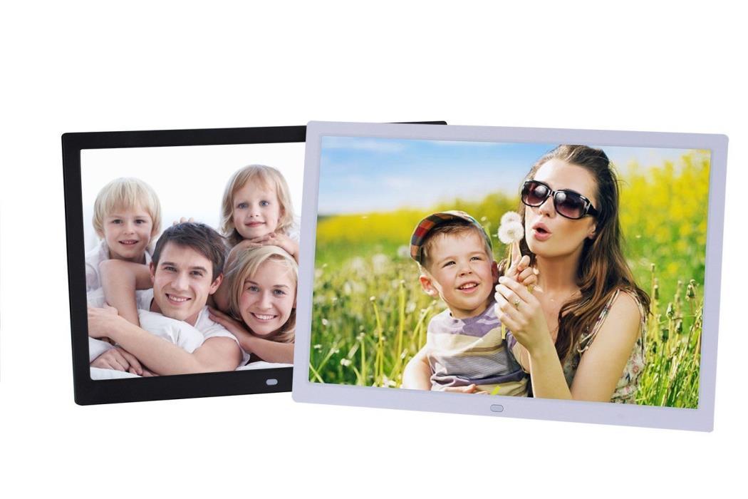 15Inch 1280x800 High Resolution Digital Photo Frame AutoTimer MP3 Video Player
