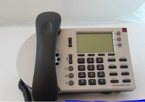 Lot of 250 Shoretel IP 230 VOIP Telephone Set (Silver)