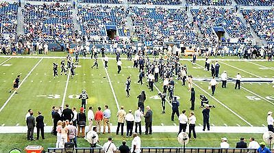 2 Seattle Seahawks 2017 SEASON Tickets Charter Section 110 Row Q aisle seats!