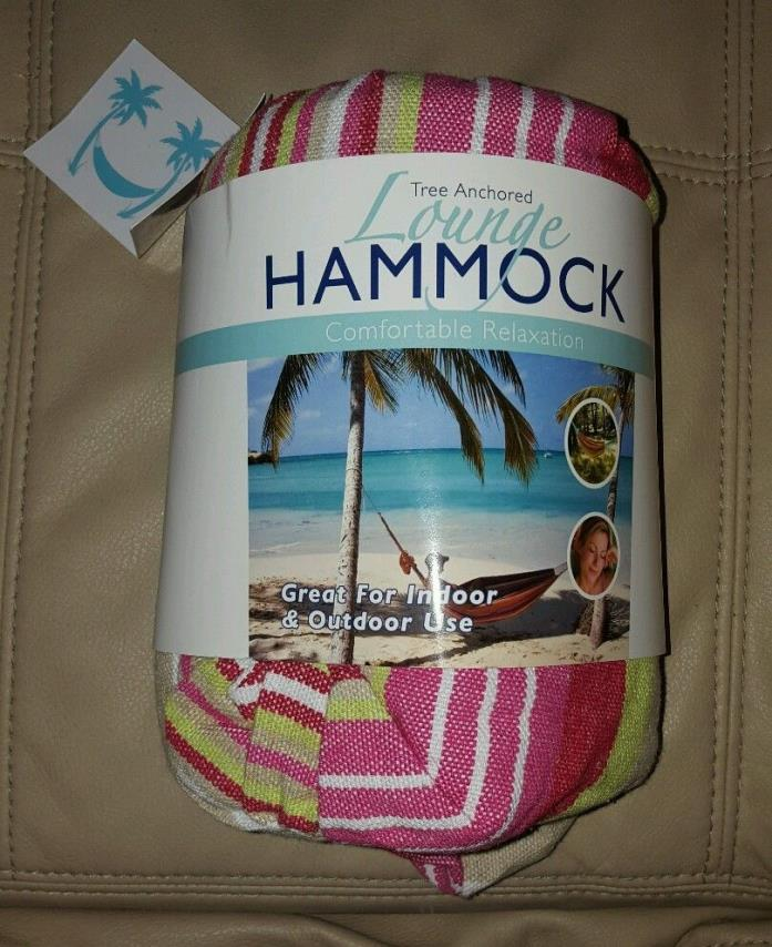 Tree Anchored Lounge Hammock 32