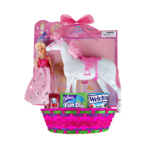Horse Princess Collection Large Easter Basket
