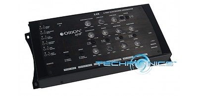 ORION XTR-X4R 4-WAY ELECTRONIC CROSSOVER NETWORK REMOTE BASS BOOST LEVEL CONTROL