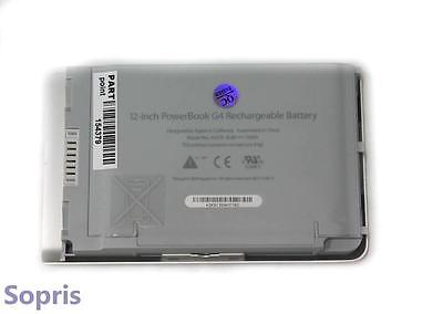 A1079 Battery for Apple G4 PowerBook 10.8V 4400mAh 6Cell Li-Ion M8760