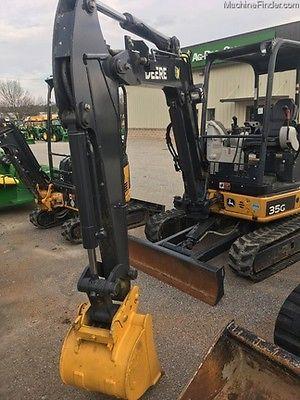 2014 John Deere 35G Small Excavators