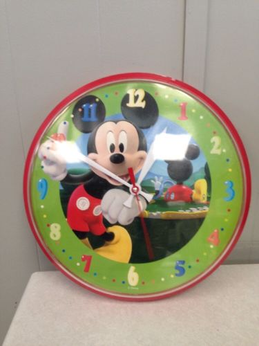 Mickey Mouse Clubhouse Red Wall Clock
