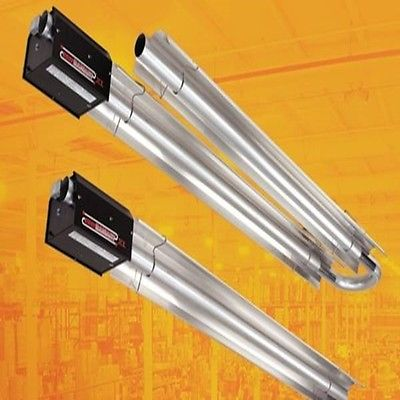 Radiant Tube Heater 60 FT 200,000 BTU Natural Gas