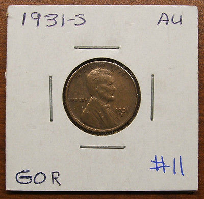 KEY DATE 1931-S LINCOLN WHEAT PENNY #11