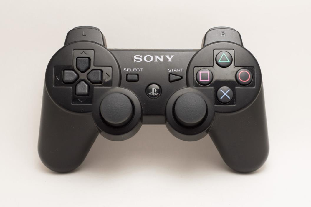 Sony Playstation 3 SIXAXIS Controller Black Genuine PS3