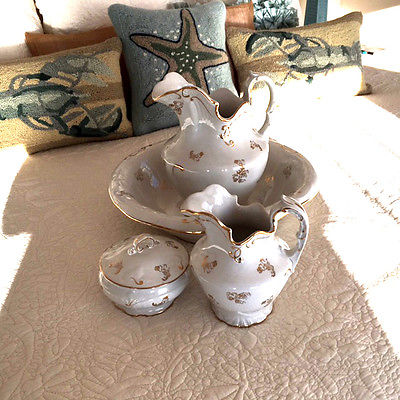 Four Piece Porcelain Wash Basin set