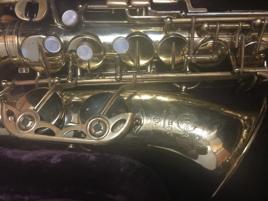 selmer mark vi alto sax serial # 170274