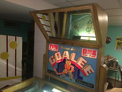 1946 Chicago Coin Goalee EM Arcade Hockey Game, Possible delivery to the Shows