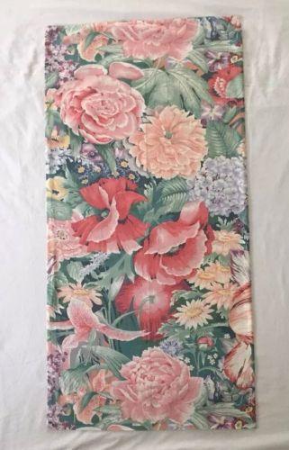 Vintage Atelier Martex 100% Cotton Percale KING Pillowcase ~ Lush Floral Design
