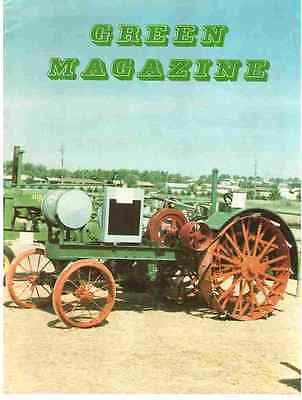 July 1987 GREEN Magazine JOHN DEERE Tractor