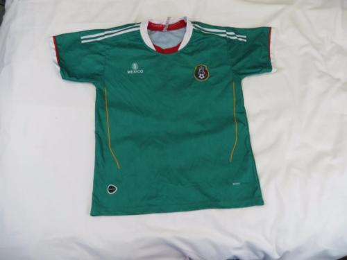 Used Sweet Mexico Green Soccer Futbol Athletic Jersey Mens Sz XS S Or Womens M