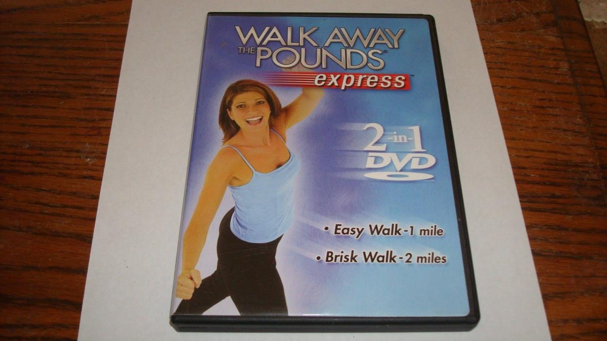 Walk Away the Pounds Express 2 in 1 DVD