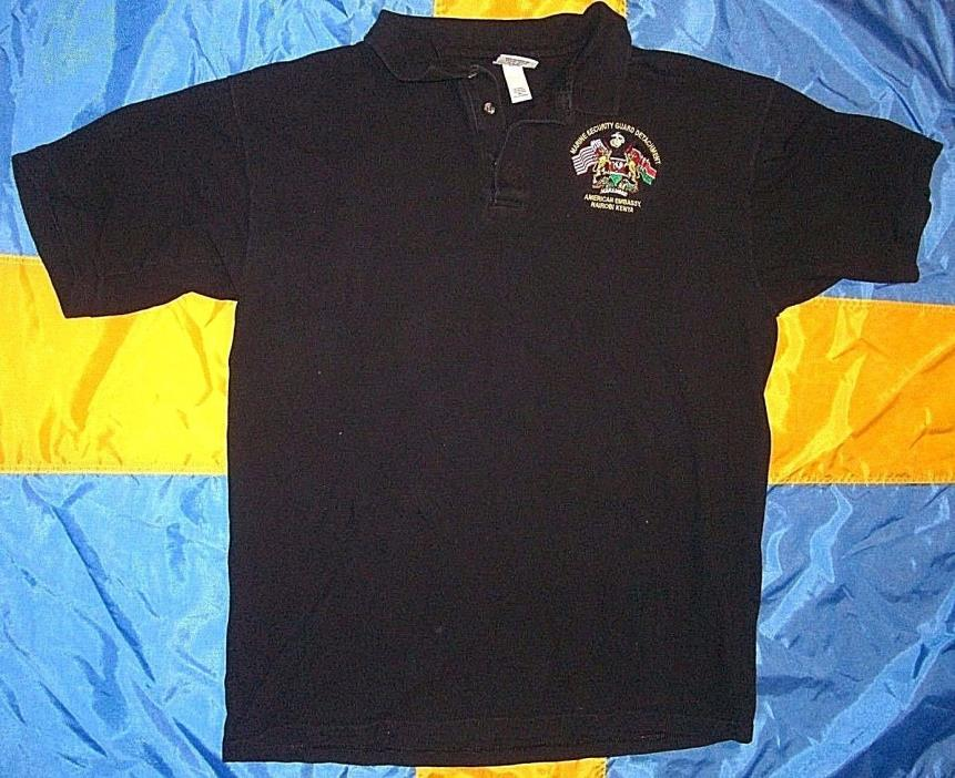 Security guard shirts for sale classifieds for Work polo shirts embroidered