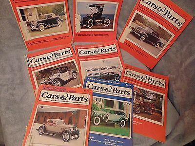 CARS AND PARTS MAGAZINES Lot of 8 1978