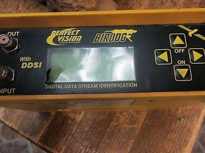 Perfect Vision Satellite Signal Meter Finder Bird Dog Digital Data Stream POSI