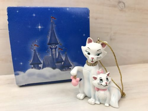 Disney Aristocats Ornament White Cat and Kitten