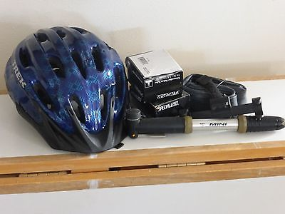 Trek Mountain Biking Helmet and Misc. Gear