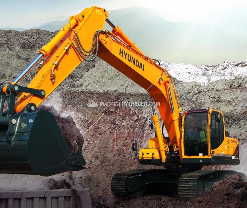 HYUNDAI ROBEX 260 LC-GA