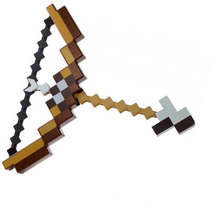 Minecraft Bow and Arrow