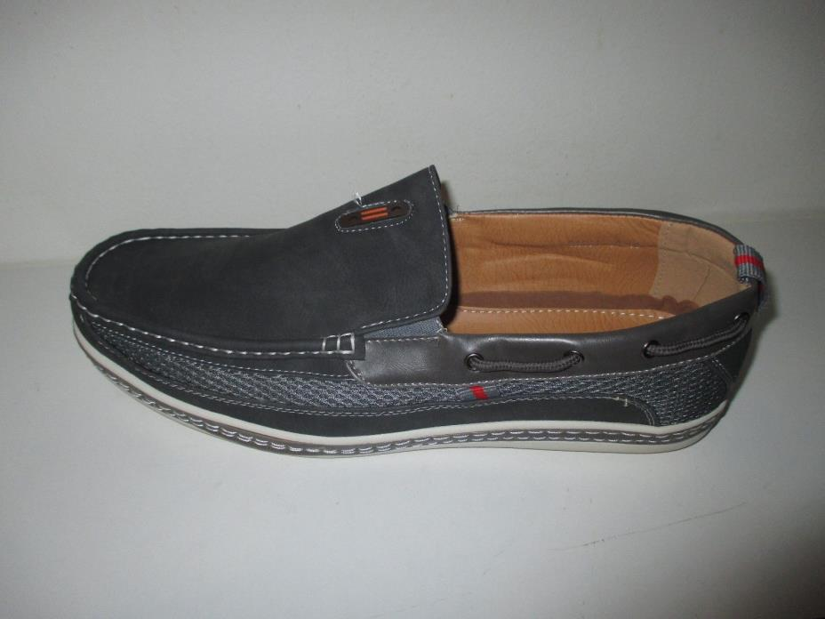 NEW Frenchic Men's Slip-On Loafers - Grey- Size: 13