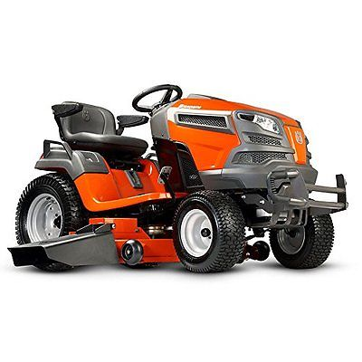 Electronics Features Husqvarna 960450057 GTH52XLS 24V Hydro Pedal Tractor Mower,
