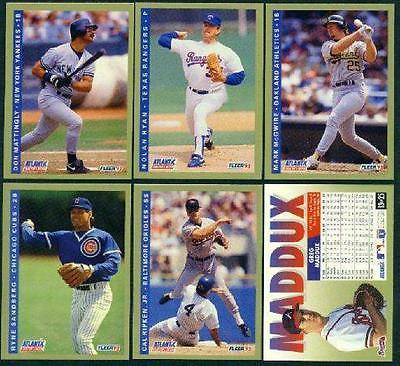 Nolan Ryan #20 1993 Fleer Atlantic