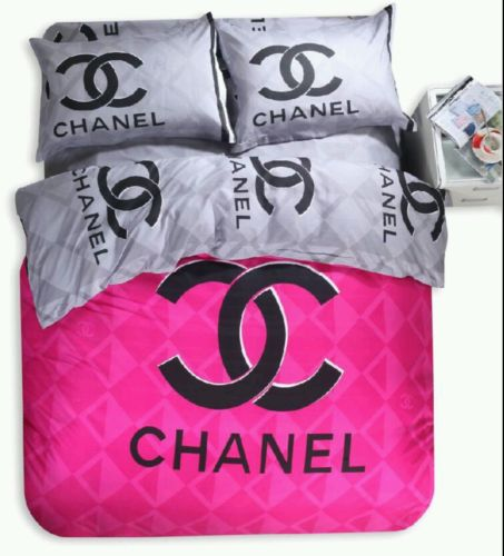 Queen Size bed Set Pink