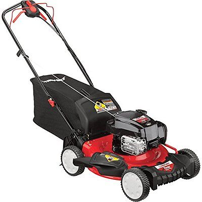Walk-Behind Lawn Mowers Troy-Bilt TB340 195cc Powermore 21-inch RWD 3-in-1 Mower
