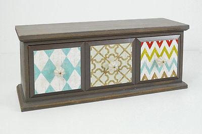 Drew DeRose Designs 3 Drawer Accent Cabinet