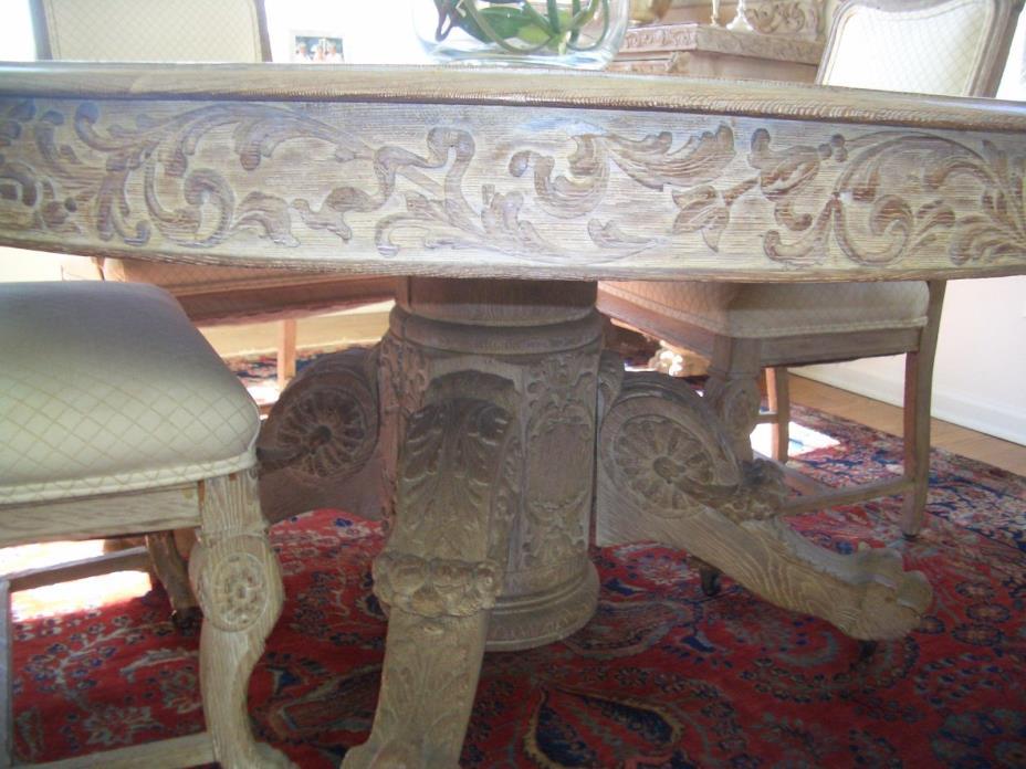 R J Horner Dining Room Set - oak