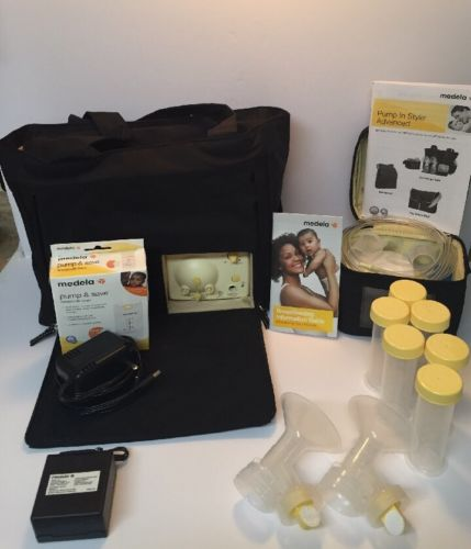 Medela Pump In Style Advanced Double Breastpump On The Go Tote