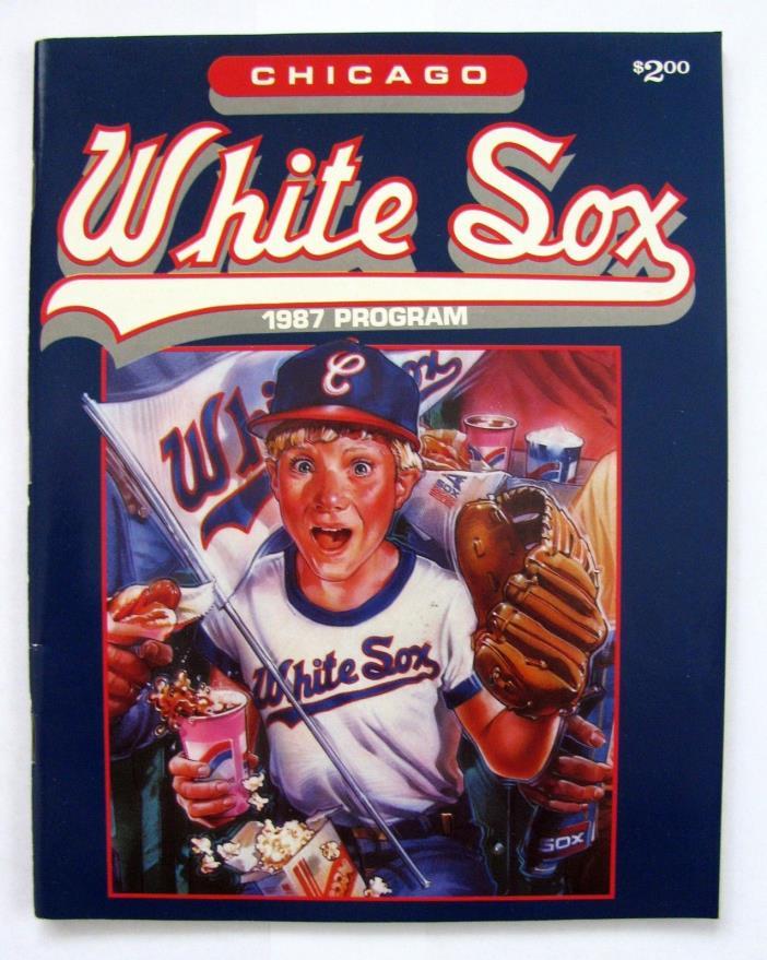 1987 CHICAGO WHITE SOX PROGRAM