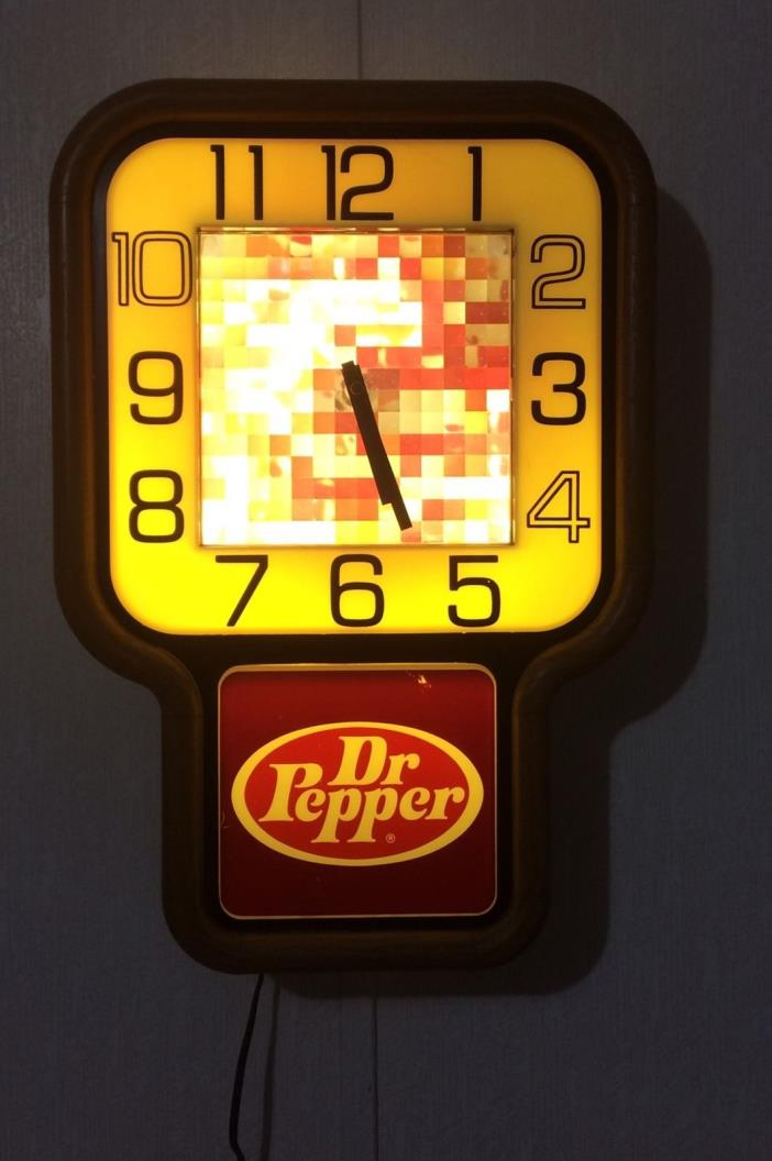 Dr Pepper Lamp : Dr pepper clocks for sale classifieds