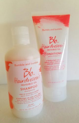 Bumble and Bumble Hairdresser's Invisible Oil Shampoo 8.5oz & Conditioner 6.7oz