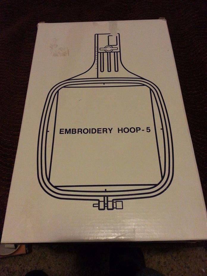 Janome, Elna, Kenmore Embroidery Hoop-5 #83422005 New Free Shipping!