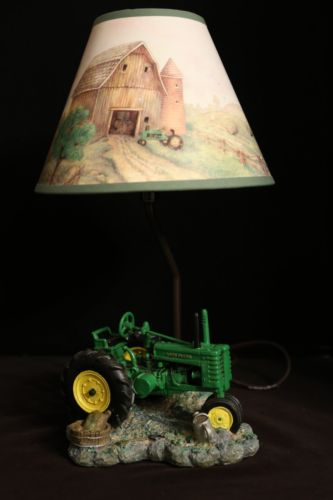 Tractor Desk Lamp : Deer lamp shades for sale classifieds